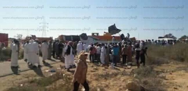 """ارتفاع ضحايا حادث """"أتوبيس الضبعة"""" لـ3 قتلى و24 مصابا"""