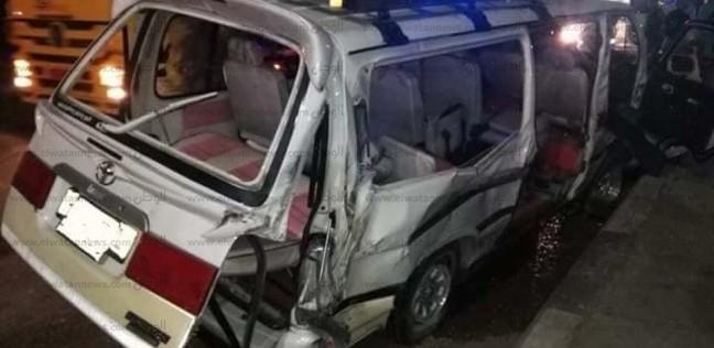 إصابة 7 بينهم برلماني في تصادم 3 سيارات بأسيوط