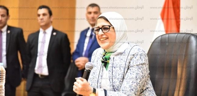 وزيرة الصحة تتوجه لبورسعيد لمتابعة تجهيزات