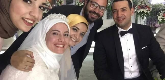 عقد قران الداعية معز مسعود والمرشدة السياحية بسنت نور الدين