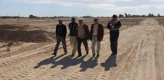 بالصور| رئيس مدينة راس سدر يتفقد المزرعة النموذجية بأبو صويرة