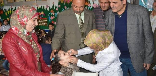 """""""صحة الإسكندرية"""" تنهي حملة التطعيم ضد شلل الأطفال بنسبة تغطية 100%"""
