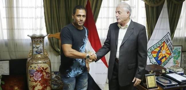 محافظ جنوب سيناء يلتقي الغطاس المصري صدام كيلاني