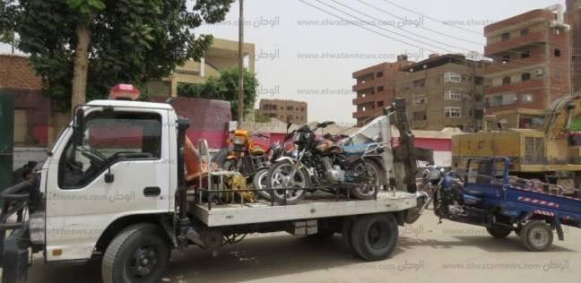 """""""المرور"""": ضبط 8 دراجات نارية مخالفة"""