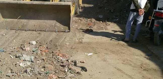 """""""تجميل القاهرة"""" تدعو المواطنين التوقف عن إلقاء القمامة في الشارع"""