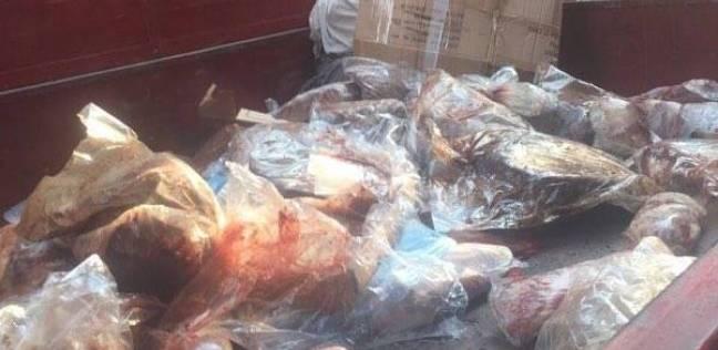 ضبط 400 كيلو جرام «كرشة» فاسدة بمحل جزارة في الفيوم