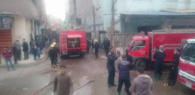إخماد حريق في شقة بأكتوبر دون وقوع إصابات بشرية