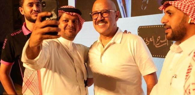 فن وثقافة   مؤتمر صحفي لـ جريمة في المعادي  بالسعودية