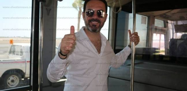 بالصور| وائل جسار يصل شرم الشيخ لإحياء إحدى حفلاته الغنائية غدا
