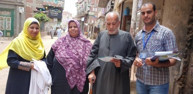 """""""مياه الشرقية"""" تنظم حملة لإجراء استقصاء ميداني للمواطنين في منيا القمح"""