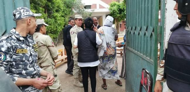 وفد من الاتحاد الإفريقي يتفقد سير العملية الانتخابية في الشرابية