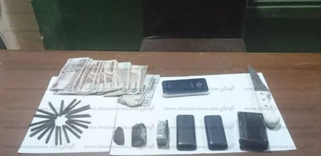 ضبط عاطل بحوزته ربع كيلو حشيش في مرسى مطروح