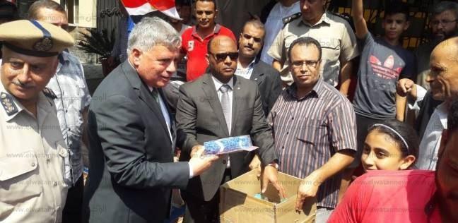 تحرير 896 مخالفة تموين ومرافق وإشغالات ومرور في حملة أمنية بالغربية