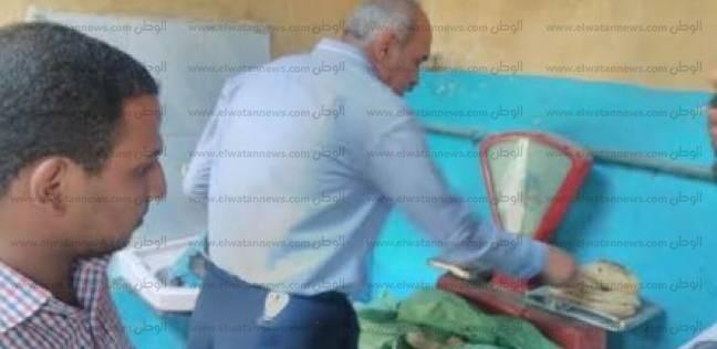 تحرير 76 مخالفة تموينية متنوعة خلال حملات اليوم الواحد في أسيوط