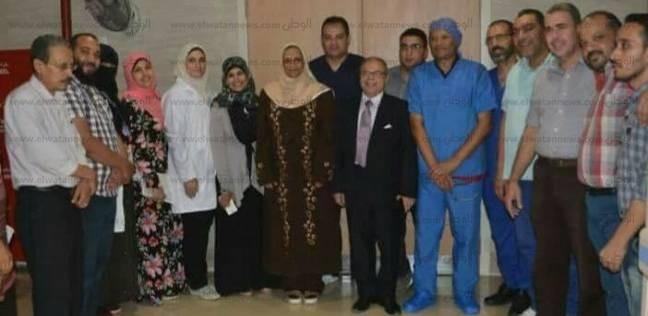 بالصور| افتتاح بنك دم «تخزيني» بـ«سيدي غازي الجديد» في كفر الشيخ