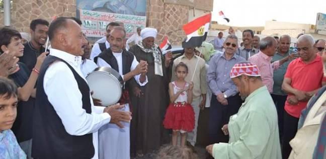احتفالات بالبحر الأحمر لفوز السيسي بفترة رئاسية ثانية