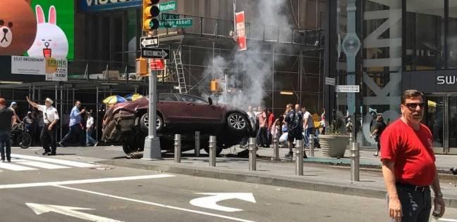 عاجل| إلقاء القبض على سائق السيارة المتسببة في حادث الدهس بنيويورك