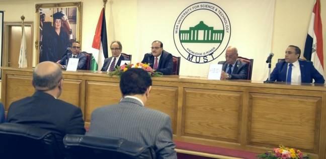 وزير التعليم العالي الأردني يزور جامعة مصر