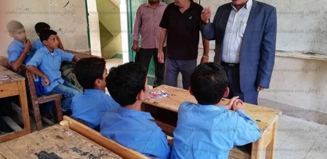 تعليم شمال سيناء : الدراسة في موعدها والكتب وصلت المدارس - المحافظات -