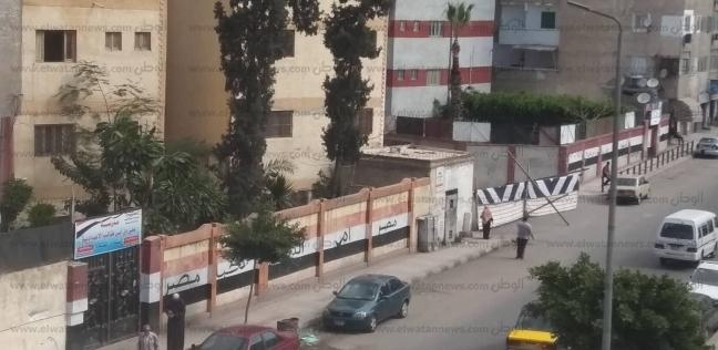 توافد المواطنين على لجان العجمي للاستفتاء على التعديلات الدستورية
