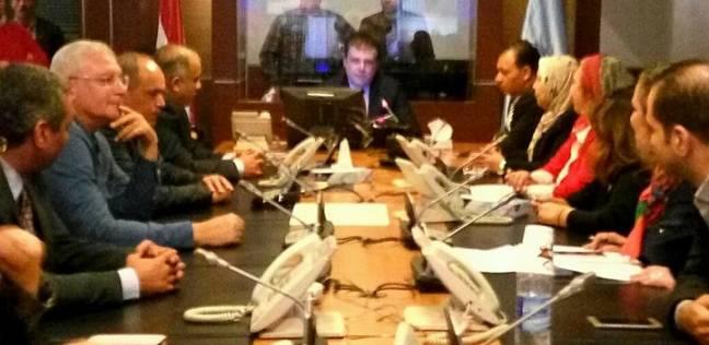 """حسين زين يتابع تغطية ماسبيرو للانتخابات من """"عمليات الوطنية للإعلام"""""""