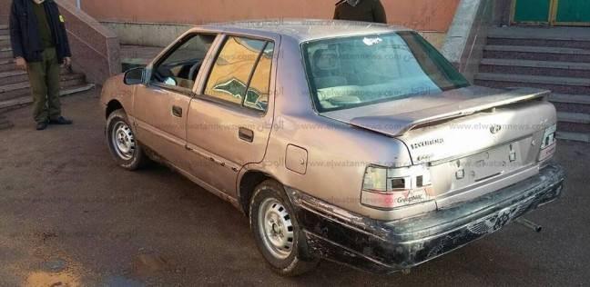 ضبط سيارة ملاكي مسروقة من مواطن بالجيزة في طريق بالفيوم