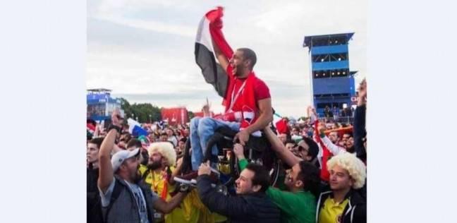 """""""ملحمة إنسانية"""" لخدمة مشجع مصري في كأس العالم"""