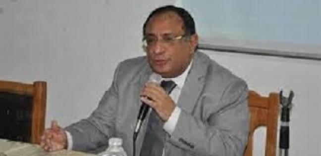 جولة تفقدية لرئيس جامعة حلوان على المنشآت الرياضية