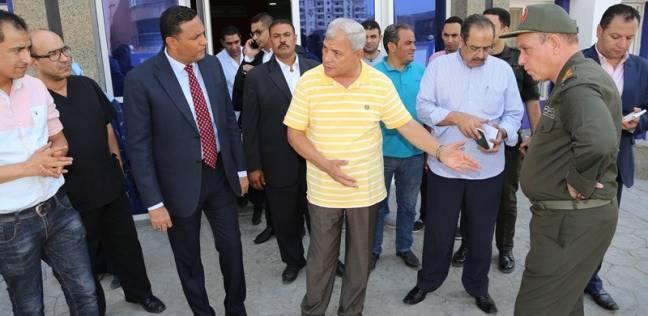 """محافظ المنوفية يتفقد المستشفى العسكري بـ""""شبين الكوم"""" تمهيدا لافتتاحها"""
