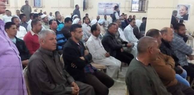 """بدء مؤتمر """"القبائل المصرية"""" لتأييد السيسي بـ""""طريق مصر السويس"""""""