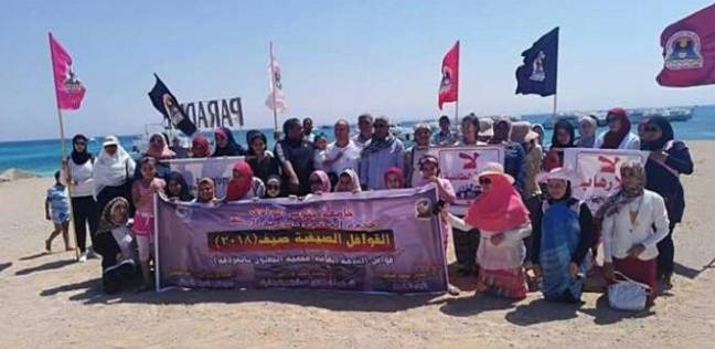 جزيرة الجفتون تشهد حملة بيئية لتنظيف الشاطئ والأعماق بالغردقة