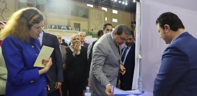 مصر   وزير القوى العاملة يفتتح ملتقى توظيف لتوفير 3000 فرصة عمل للشباب
