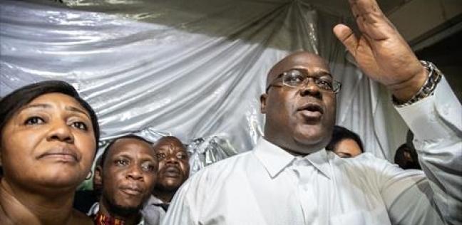 """حدث تاريخي.. """"تشيسيكيدي"""" أول رئيس في الكونغو يصل للحكم بشكل سلمي"""