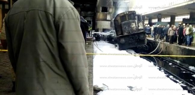 كارثة «رصيف نمرة 6».. التفاصيل الأولية لـ حريق محطة مصر
