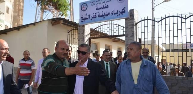 محافظ كفر الشيخ يتفقد أعمال تطوير هندسة كهرباء المدينة بتكلفة مليون جنيه
