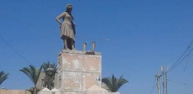 اختفاء تمثال «بائع العرقسوس» من أقدم ميادين الإسكندرية