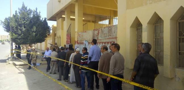 توافد الناخبين للجان الانتخابات في الشيخ زايد