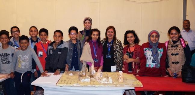 """طلاب جامعة الطفل بالنهضة يفوزون بالمركز الثاني في """"الدولي للابتكار"""""""