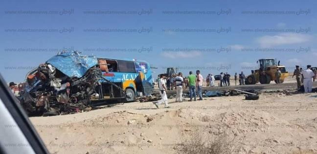 إصابة سائق بأزمة قلبية ووفاته أثناء قيادته حافلة سياحية