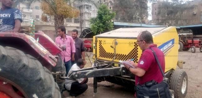 تسليم 93 معدة فرم قش الأرز لشباب كفر الشيخ