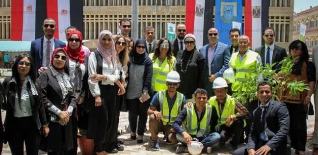 افتتاح الكلية المصرية الصينية للتكنولوجيا التطبيقية بجامعة قناة السويس بالإسماعيلية