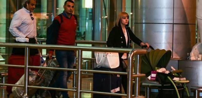 مدير أمنمطار القاهرة يتجول بصالات السفر والوصول لتفقد الحالة الأمنية