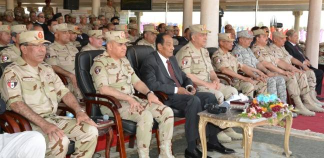القوات المسلحة تحتفل بتسليم وتسلم قيادةالجيش الثاني الميداني