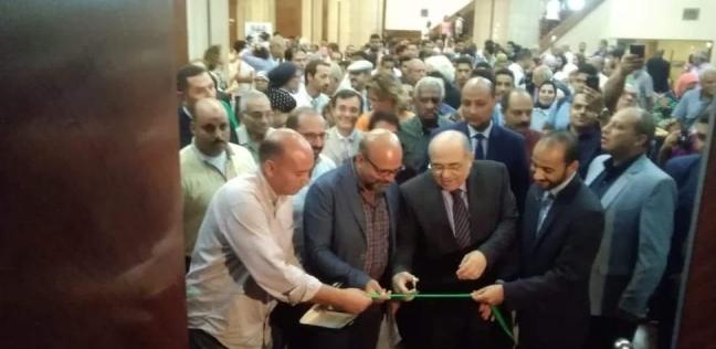 """مصطفى الفقي يفتتح """"بينالي الإسكندرية"""" في نسخته الثامنة"""