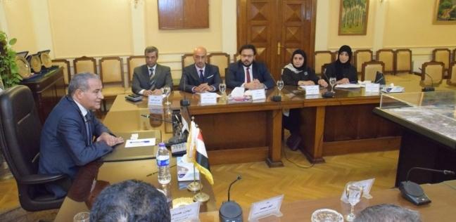 المصيلحي يستعرض مع وفد وزارة التجارة الكويتيةتجربة مصر بالدعم الغذائي