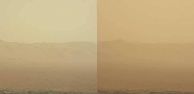 عاصفة بمساحة قارتين تغير وجه المريخ