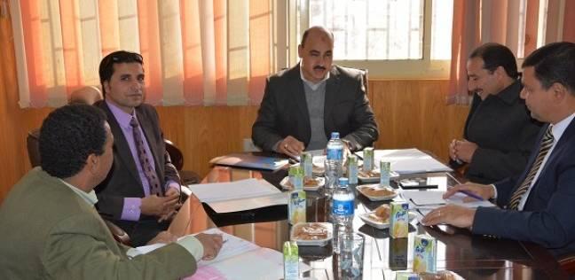بالصور  اجتماع لمجلس معهد البحوث لدول حوض النيل بجامعة الفيوم