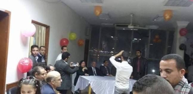 احتفالية في نقابة المهندسين لأفواج الحجاج