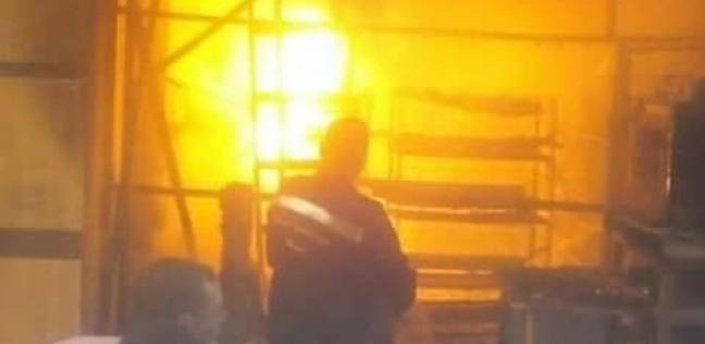 حريق في منزل مزارع بالمراشدة شمالي قنا