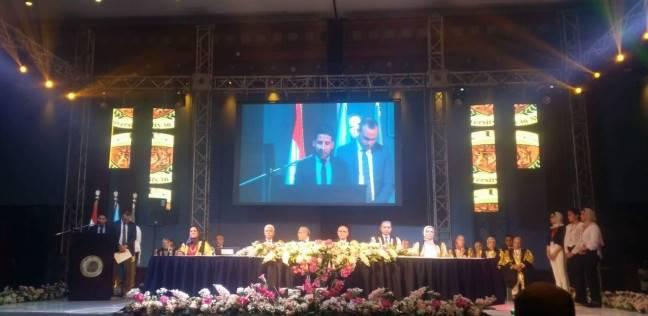جامعة فاروس تحتفل بتخريج كليتي الصيدلة والتصنيع الدوائي بالإسكندرية